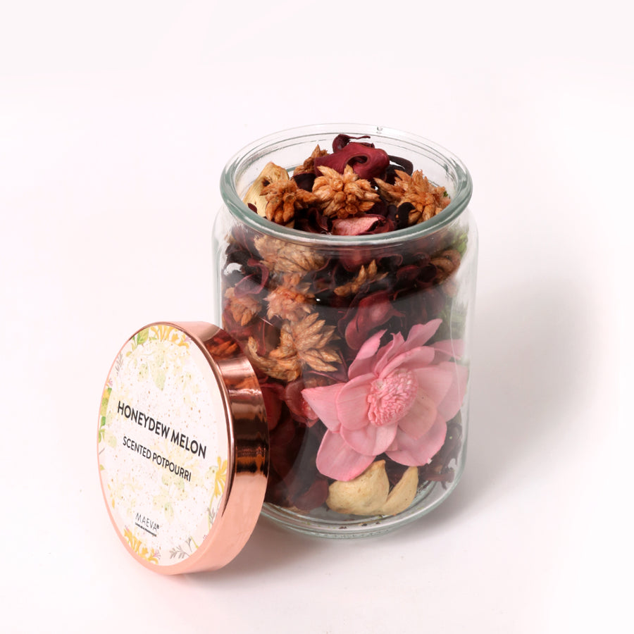 Honeydew Melon Potpourri Jar