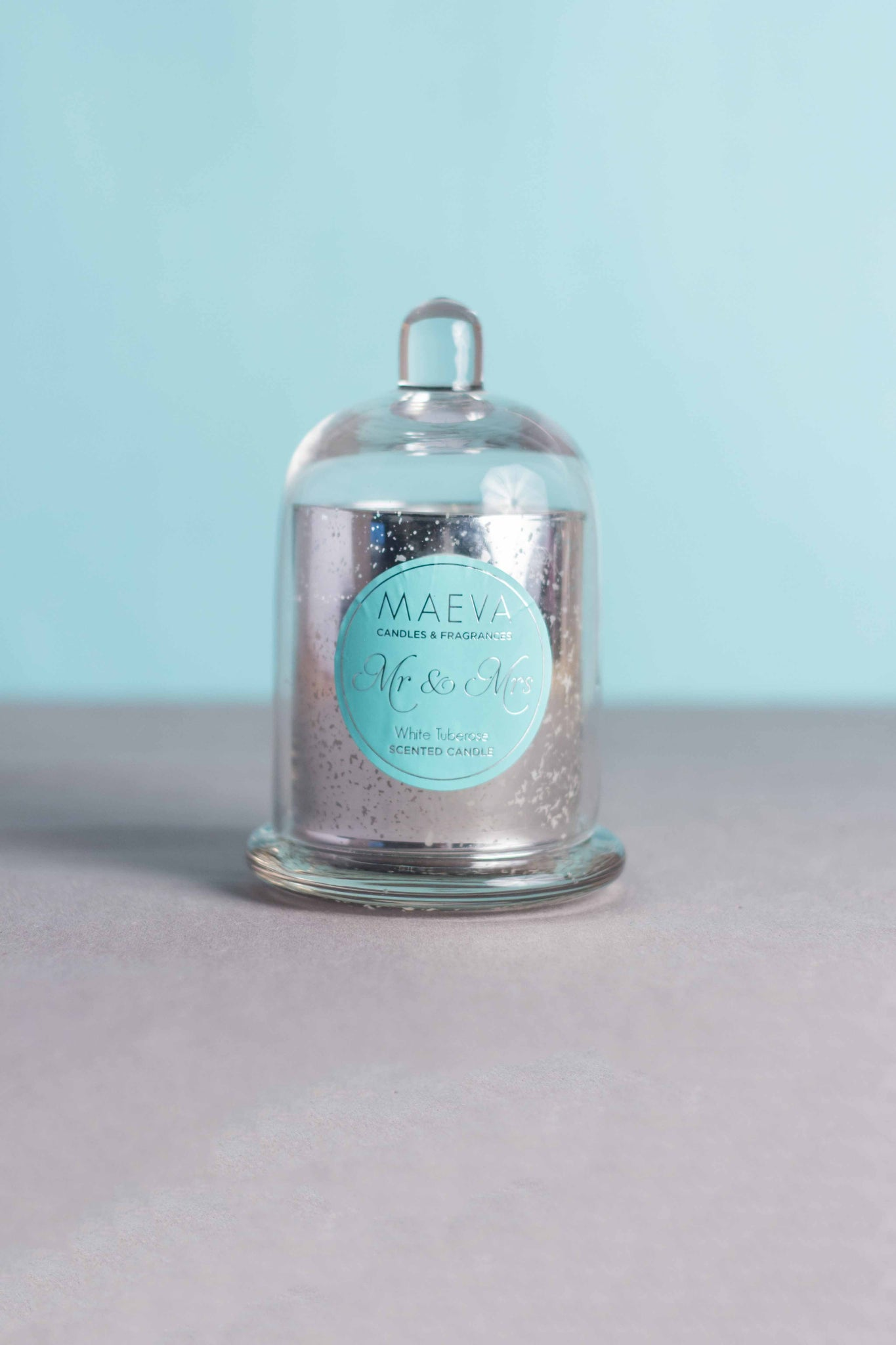 Wedding Cloche Jar Candle