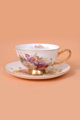 Fiona Tea Cup Candle