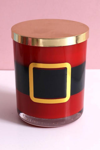 """Santa Belt"" 15 Oz Jar Candle"