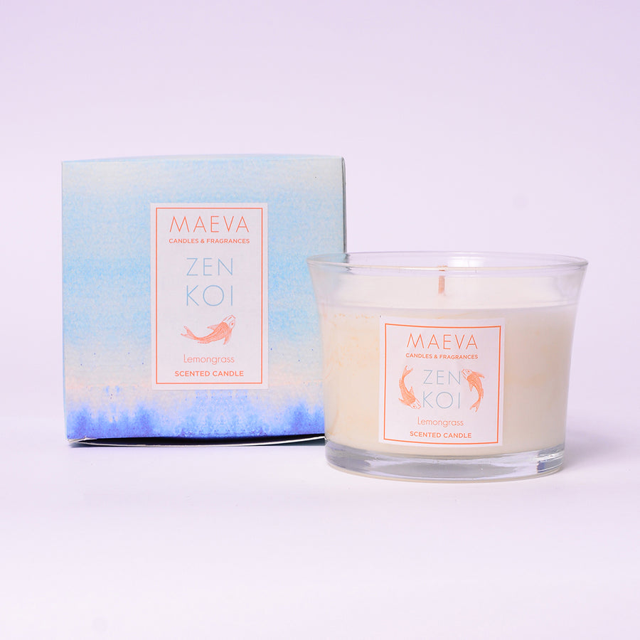 Spa Flared Glass Candle