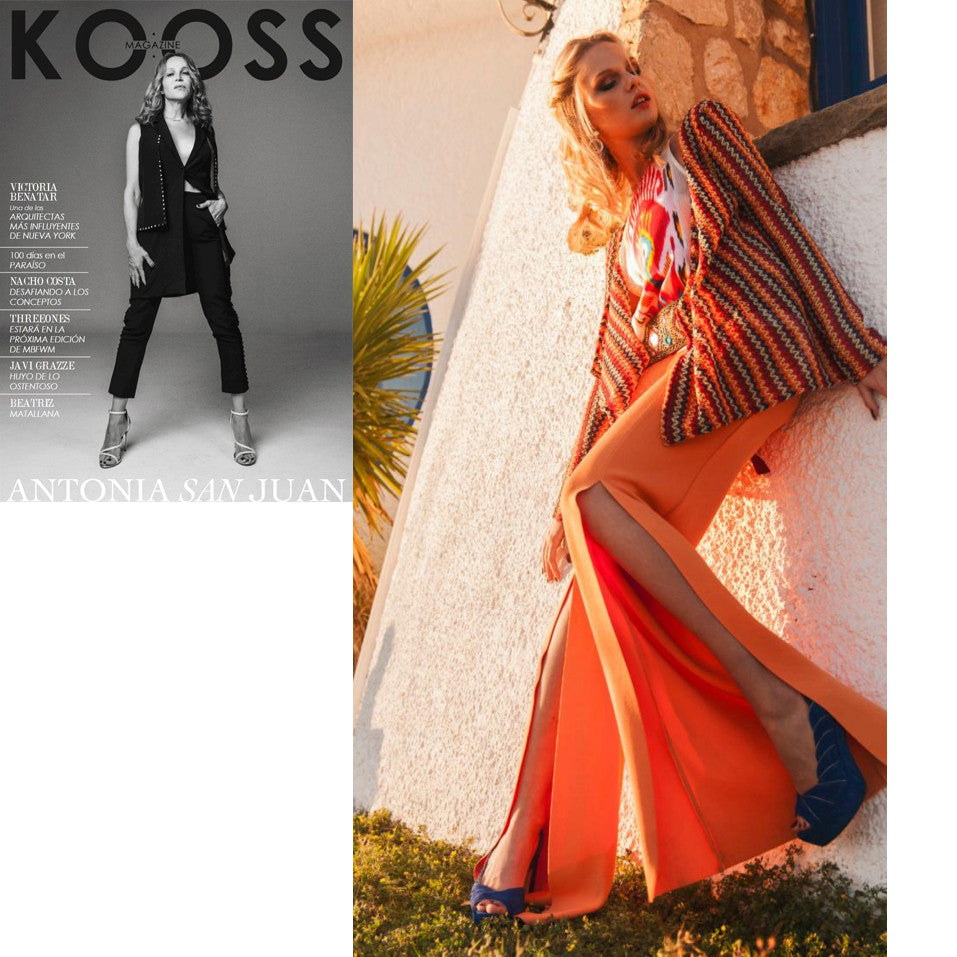 Gorgeous editorial for KOOSS Magazine!