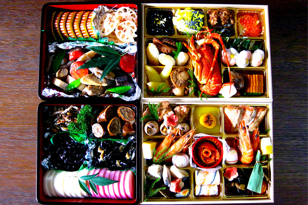 Osechi ryoki - New Year traditional food