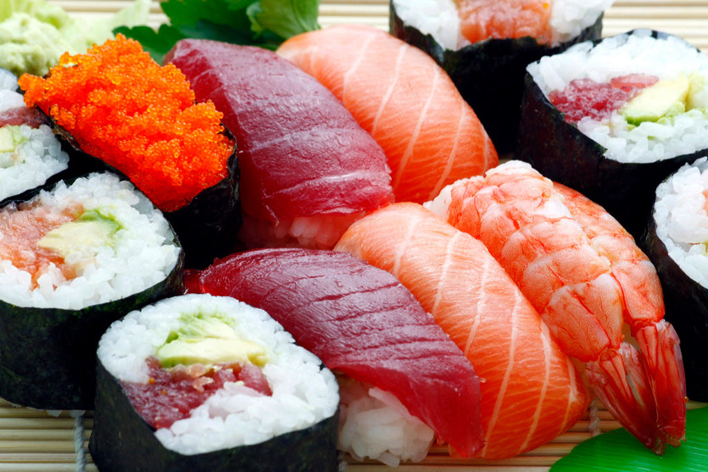 Sushi - Japanese healthy diet