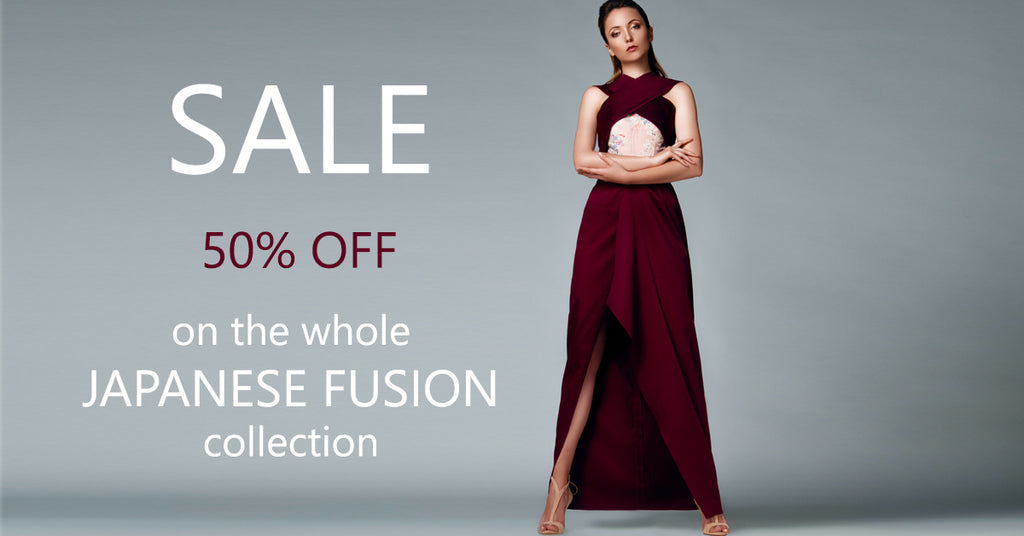 Lemiché JAPENESE FUSION Collection - Sale 50% off on all cocktail dresses