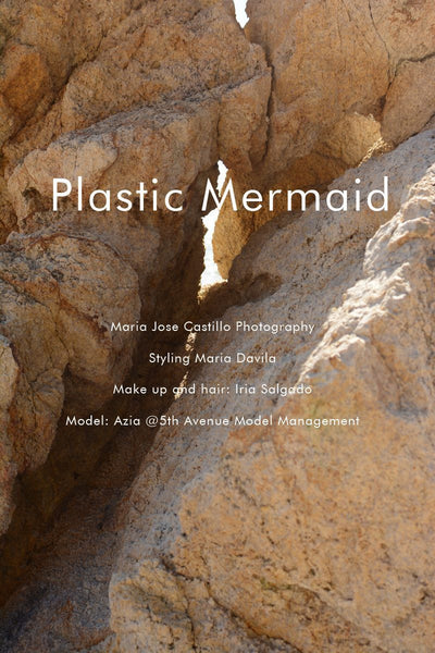 """Plastic Mermaid"" editorial for Flanelle Magazine"