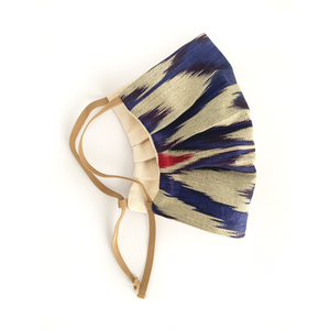 WASHABLE COTTON FACE MASK - UZBEK IKAT - Lemiché