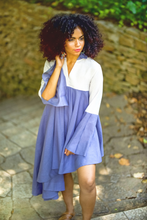 "Load image into Gallery viewer, ""SUNSWIRL"" DRESS – LAVENDER - Lemiché"
