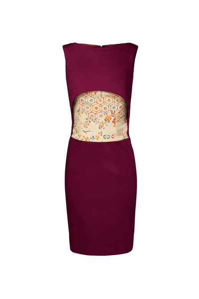 GARNET PENCIL DRESS - Lemiché