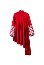 "Load image into Gallery viewer, ""SUNSWIRL COCKTAIL"" DRESS – RED BELMONTE - Lemiché"