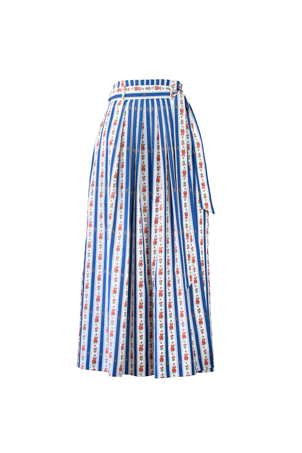 """SANDALS ONLY"" WRAP SKIRT - BLUE CRETONE - Lemiché"