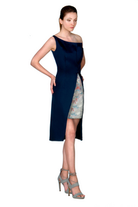ONE SHOULDER ASYMMETRIC DRESS - Lemiché