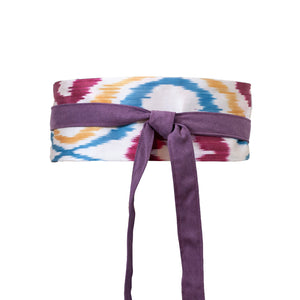 IKAT MINI OBI BELT - Lemiché