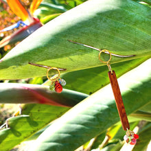 "Load image into Gallery viewer, ""FRUIT BRANCH"" WOOD EARRINGS - Lemiché"