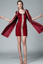 Load image into Gallery viewer, SHEATH COAT DRESS - Lemiché