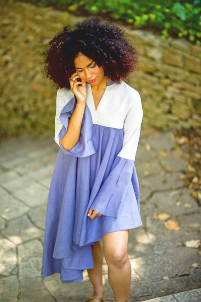 """SUNSWIRL"" DRESS – LAVENDER - Lemiché"