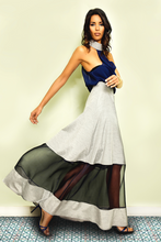 Load image into Gallery viewer, SHEER PANEL MAXI SKIRT - Lemiché