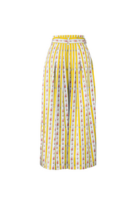 """SANDALS ONLY"" WRAP SKIRT - YELLOW CRETONE - Lemiché"