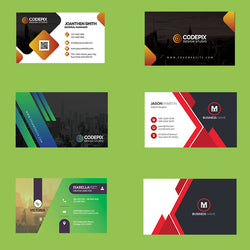 Business Card Editable PSD