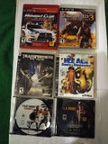 Lot of 6 USED PS3 Video games