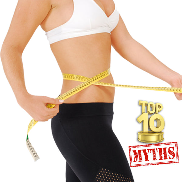 Top 10 Myths About  Losing Weight
