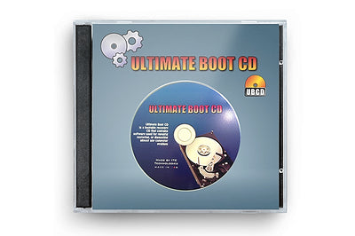 Ultimate Boot CD 5 LIVE Boot able CD Utility Toolkit Digital Download