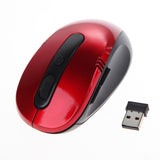 Fashion Color 2.4 GHz USB Optical Wireless Mouse With USB Receiver