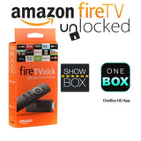 Unlocked Fire TV Stick With Streaming App