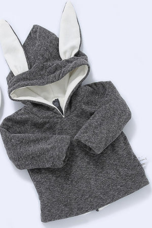 Bunny Ear Hooded Jumper