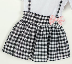 2 Piece Set- Checkered