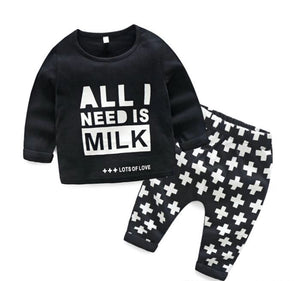 Monochrome Milk Set