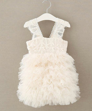 Lace Layered Tutu Dress