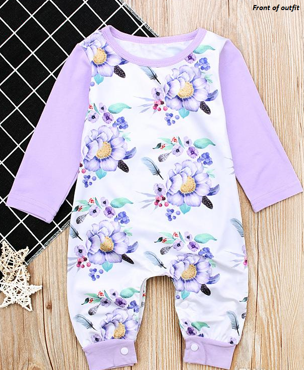 f651e8417df7 Floral Romper - The Wild Child