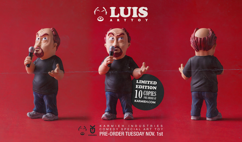 Louie CK toy design