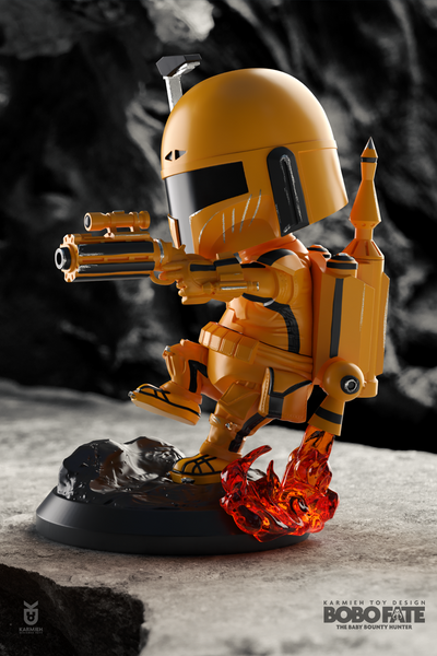 Bobo Fate: Game of Death - KARMIEH Toy Design
