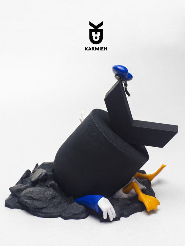 Ducked - Adulthood Series Art Toy - KARMIEH Toy Design