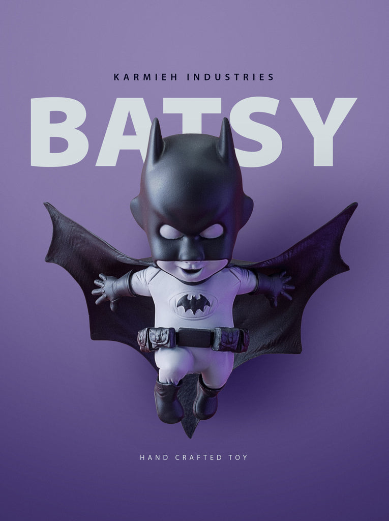 BATSY - Resin Collectible Toy - KARMIEH Toy Design