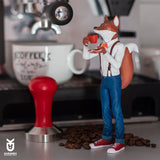 Foxpresso: Red Fox Edition - KARMIEH Toy Design