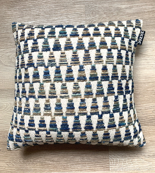 Cushion Cover Ethnic Blue Tower