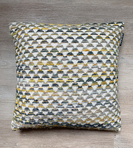 Cushion Cover Ethnic Mustard Pyramid