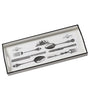 Decoupage White Cutlery Sandwich Tray