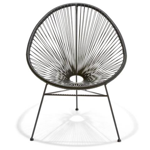 Acapulco Replica Chair - Black