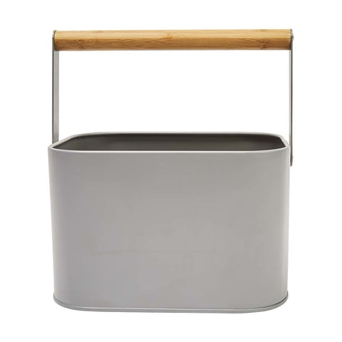 Peg Tin with Bamboo Handle