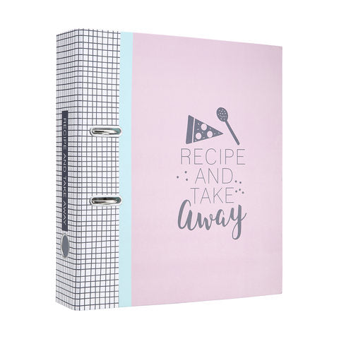 Take Away & Recipe Lever Arch File