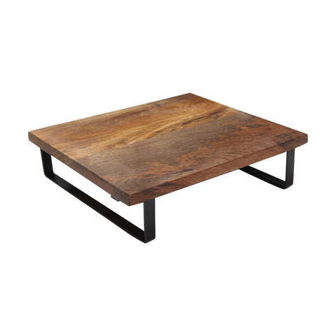 Wood Wide Serving Stand