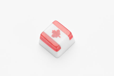 Canada Flag keycap - Jellj global store