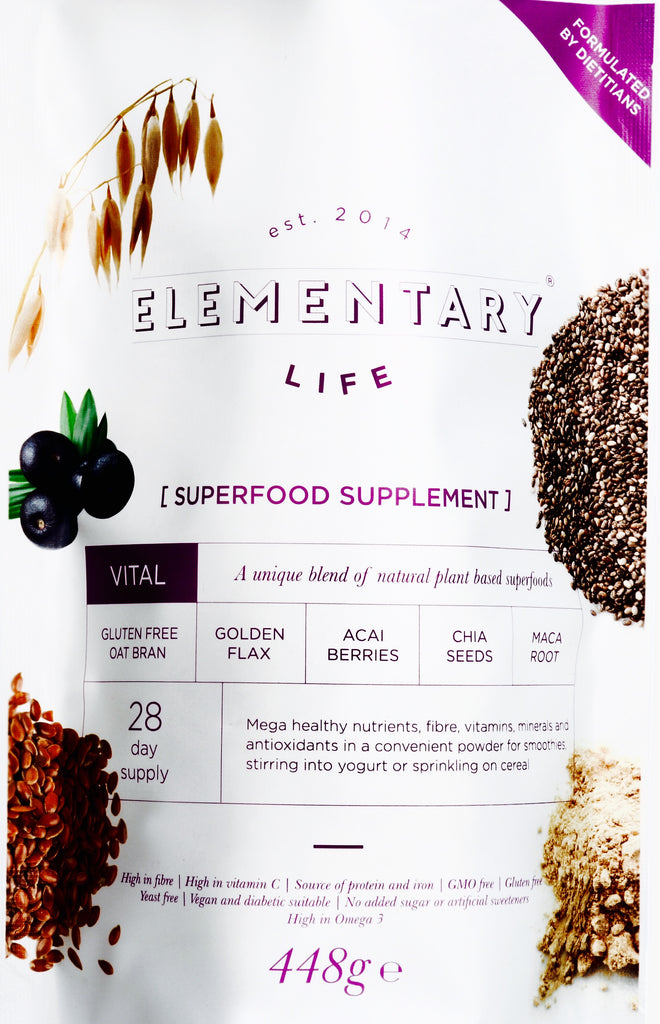 Combat the Christmas crash with Elementary Vital