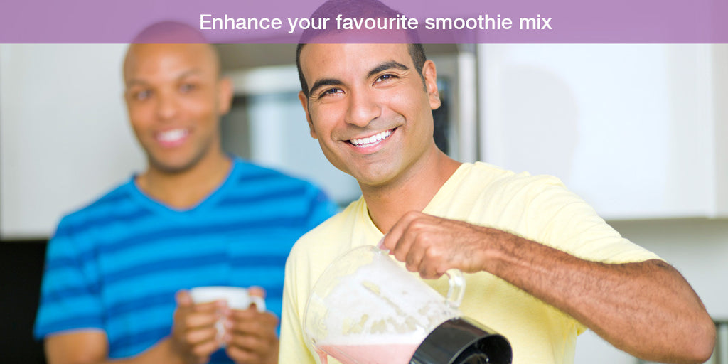 Enhance smoothies