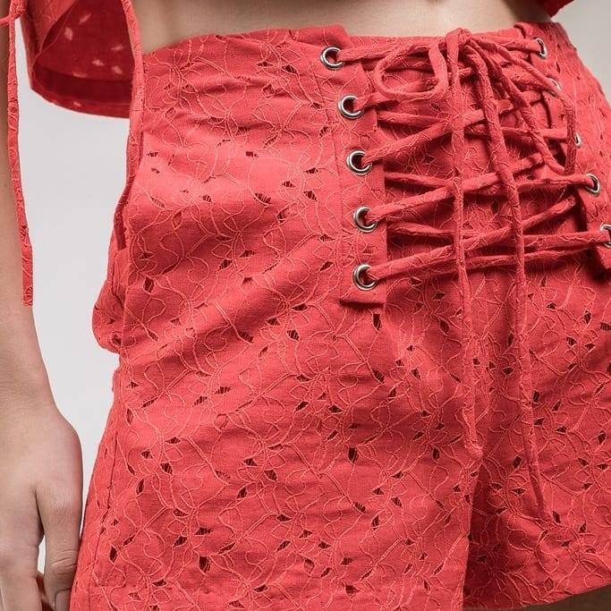 Red Hot Tie Short