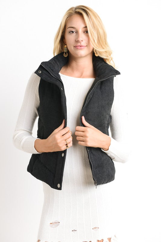 Patty Vest Black